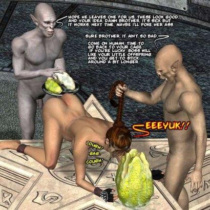 Nightmare monster sex in 3d porn comics