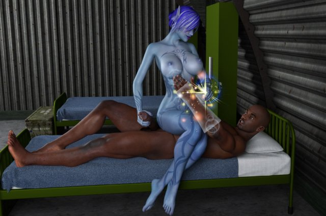 Mystic sex with blue avatar girl