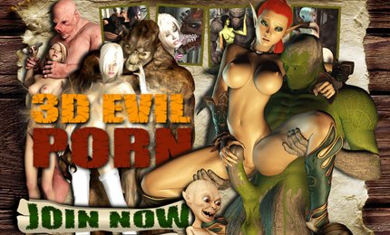 3D evil monster porn pictures