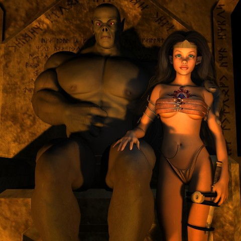 Faraon monster and sexy cleopatra