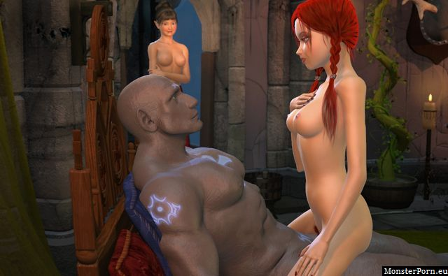 Mmorpg sex in adult sex games with elves and monsters
