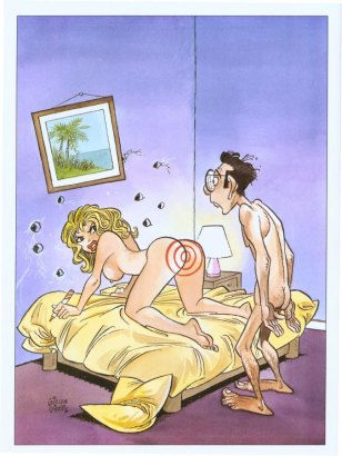 Funny adult comics with sexy images