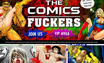 Adult comics with sexy superheroes fuck
