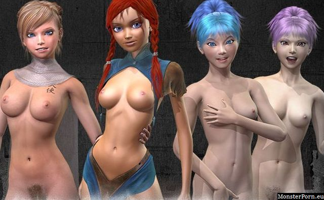 Lewd monster fuck game with elf porn and princess sex