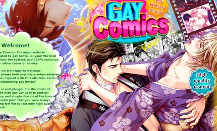 Gay comics with nude gay cartoons