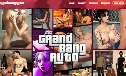 GTA porn version game with mafia porn girls business