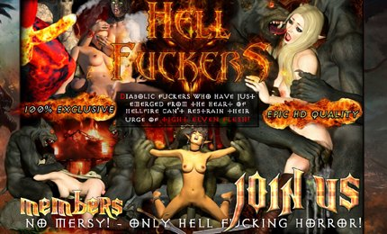 Porn fuckers with monster hell fantasies