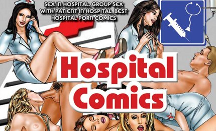 Hospital fetish porn comics with sexy nurse porn comic