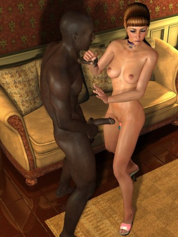 Interracial casual sex in a cheap motel