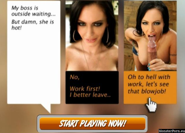 Interactive live porn games with sexy choices