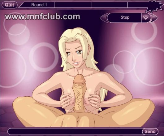 Mnfclub online free fuck game with naked blonde jerking