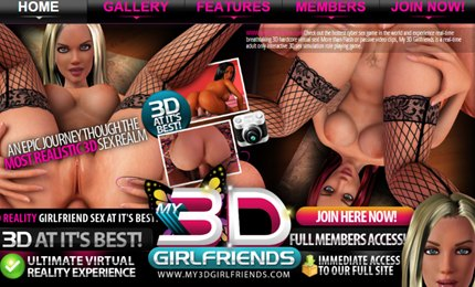 3D girlfriends in animated cartoon porn game