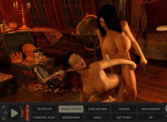 Pirate fantasy porn