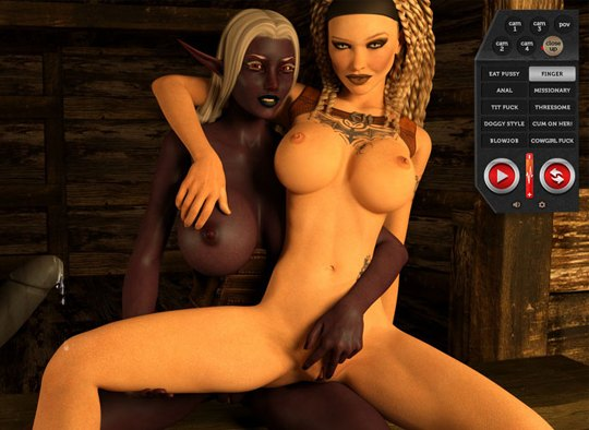 Gamer naked sexy girls