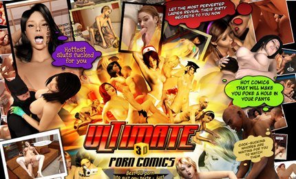 Naked girls fuck in 3d porn comics